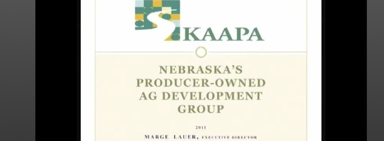Presentation by KAAPA's Executive Director